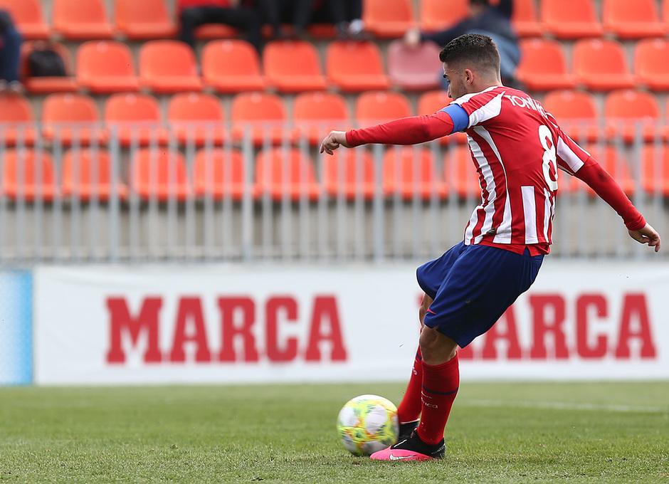Temp 19/20 | Atlético de Madrid B - Racing Ferrol | Toni Moya