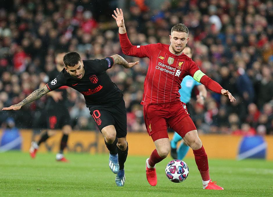 Temporada 19/20 | Liverpool - Atlético de Madrid | Correa