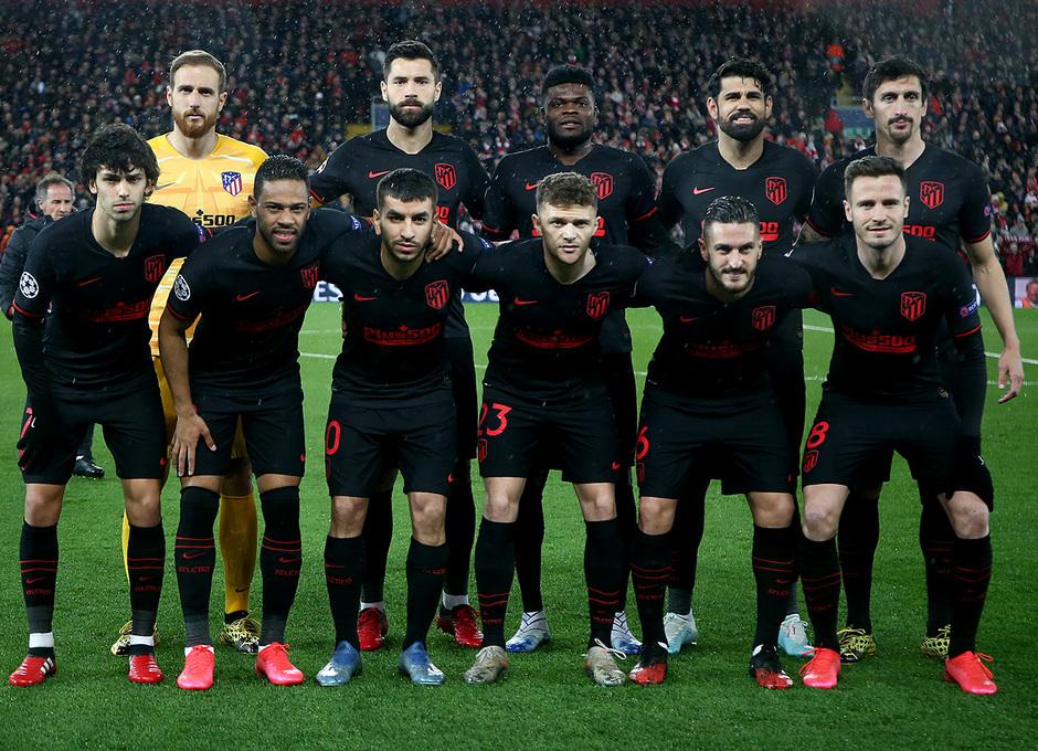 Temporada 19/20 | Liverpool - Atlético de Madrid | Once