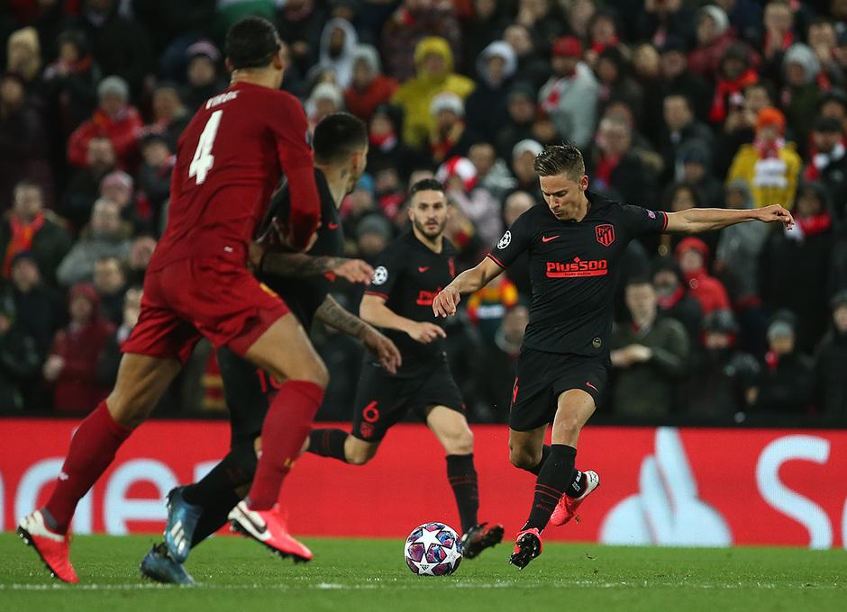 Temporada 19/20 | Liverpool - Atlético de Madrid | Llorente