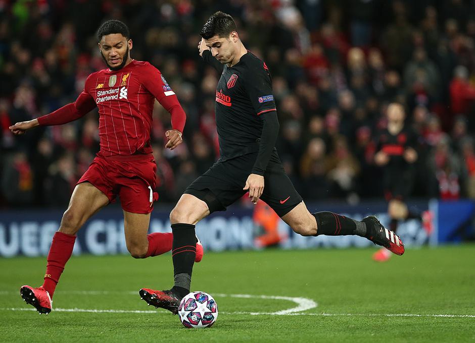 Temporada 19/20 | Liverpool - Atlético de Madrid | Morata