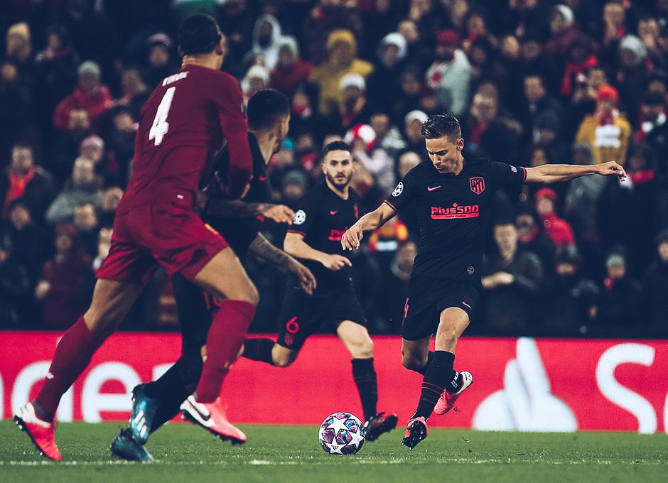 Temporada 19/20   Liverpool - Atlético de Madrid   La otra mirada   Llorente