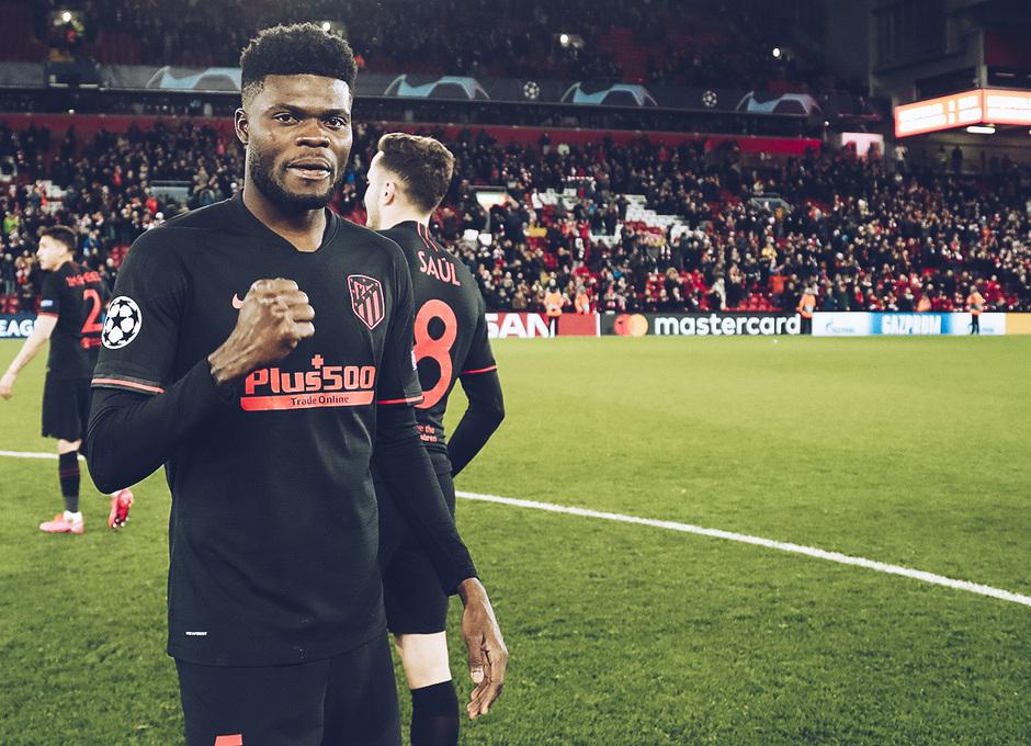 Temporada 19/20   Liverpool - Atlético de Madrid   La otra mirada   Thomas