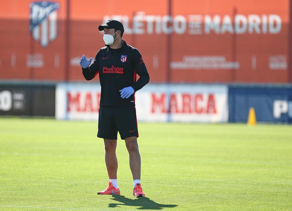 Temp. 19-20 | Entrenamiento en la Ciudad Deportiva Wanda de Majadahonda | Simeone