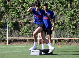 Temp. 19-20 | Entrenamiento en la Ciudad Deportiva Wanda de Majadahonda | Joao Félix