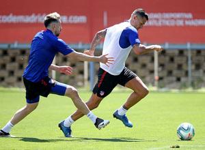 Temporada 19/20 | Entrenamiento primer equipo | Vitolo y Herrera