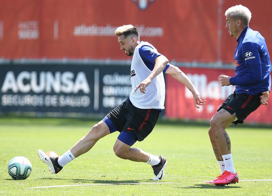 Temporada 19/20 | Entrenamiento primer equipo | Herrera y Giménez