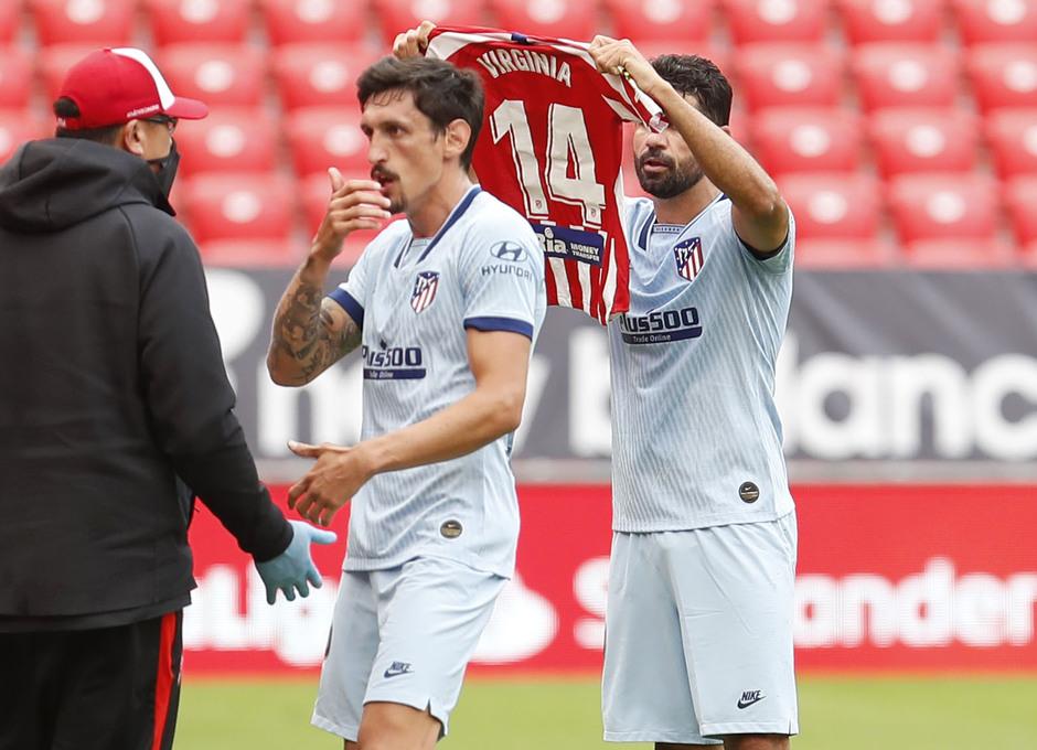 Temporada 2019/20 | Athletic - Atleti | Costa dedica el gol a Virginia Torrecilla