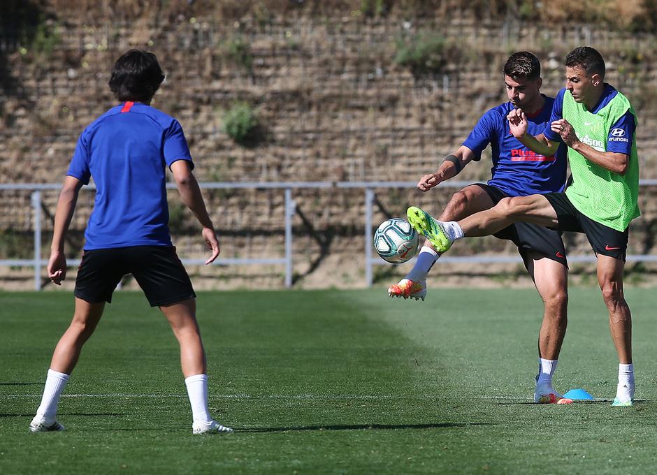 Temporada 2019/20 | Entrenamiento lunes | Morata y Arias