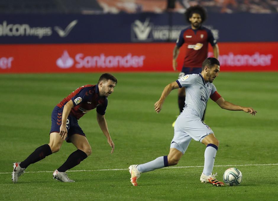 Temporada 2019/20   Osasuna-Atlético   Koke