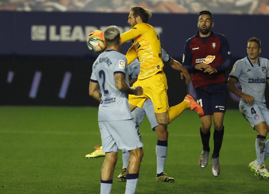 Temporada 2019/20   Osasuna-Atlético   Oblak