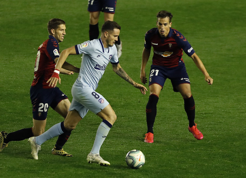 Temporada 2019/20 | Osasuna-Atlético | Saúl