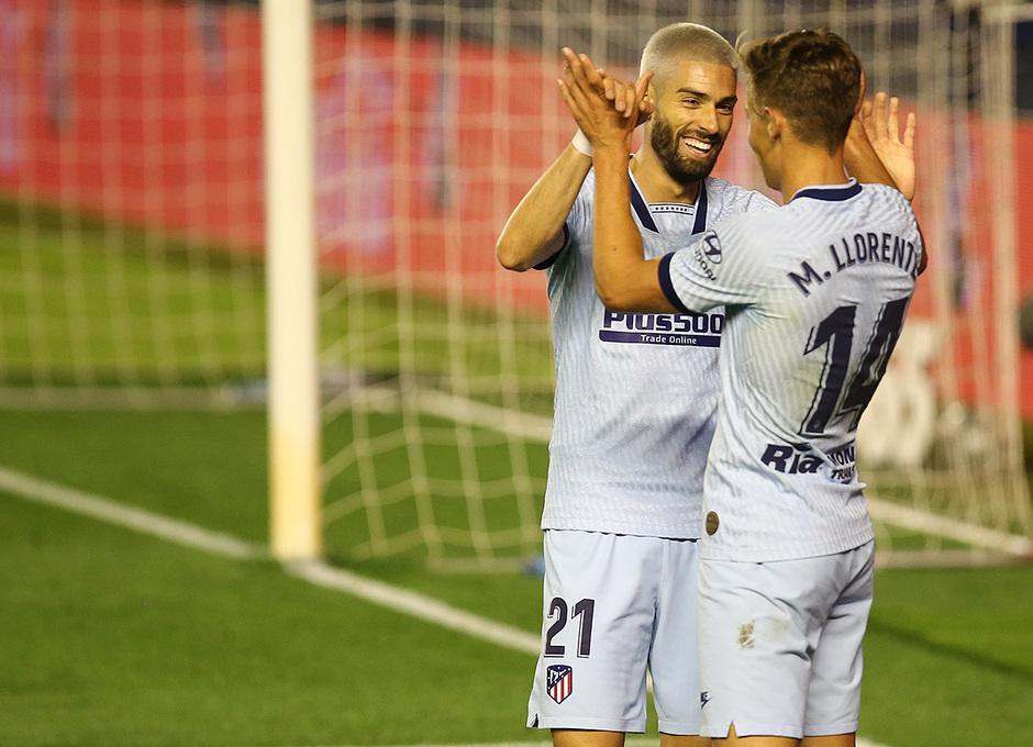 Temporada 2019/20 | Osasuna-Atlético | Carrasco y Llorente