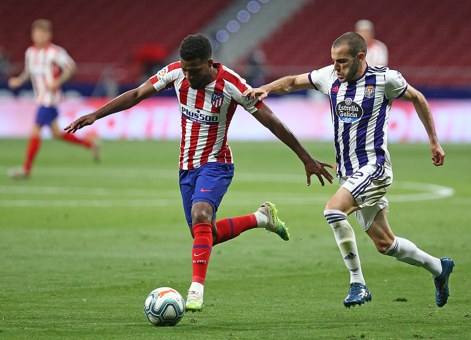 Temp 19/20   Atlético de Madrid - Valladolid   Lemar