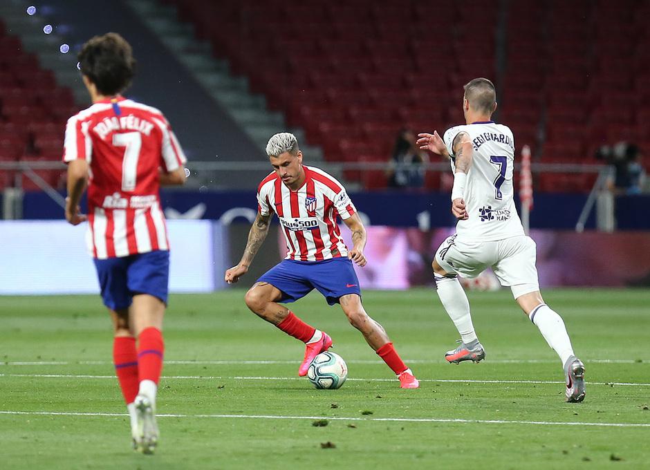 Temp 19/20   Atlético de Madrid - Valladolid   Herrera