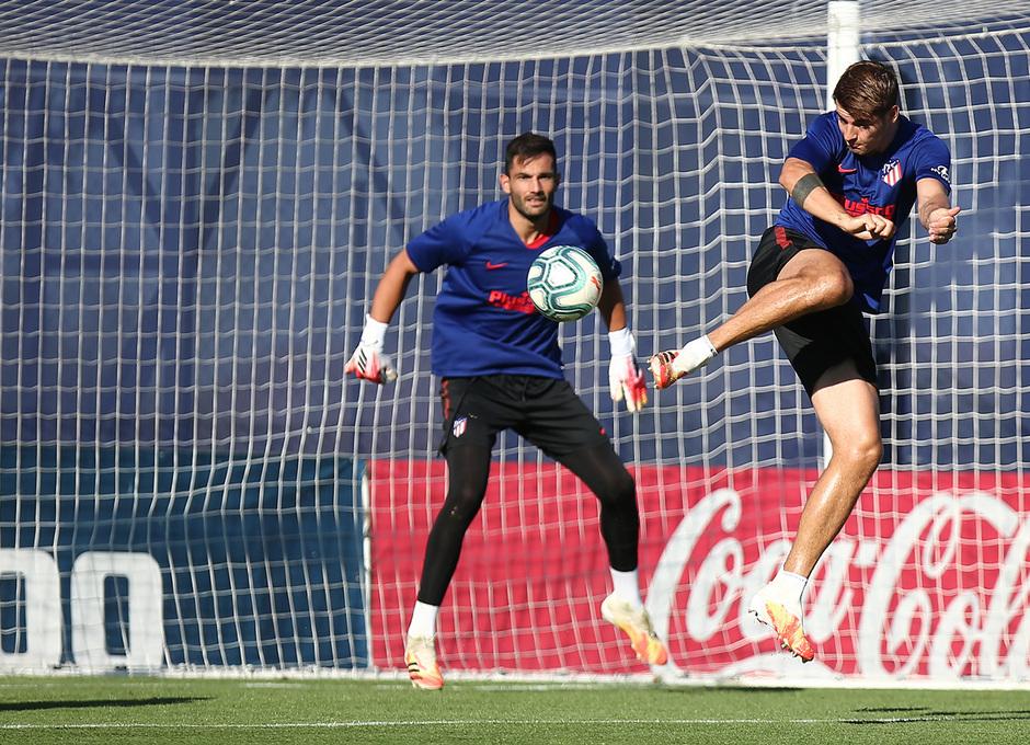 Temp. 19-20 | Entrenamiento en la Ciudad Deportiva Wanda de Majadahonda | Morata
