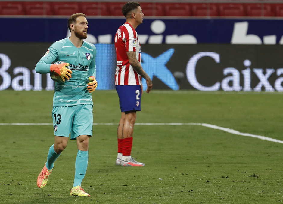Temporada 19/20 | Atlético de Madrid - Mallorca | Oblak