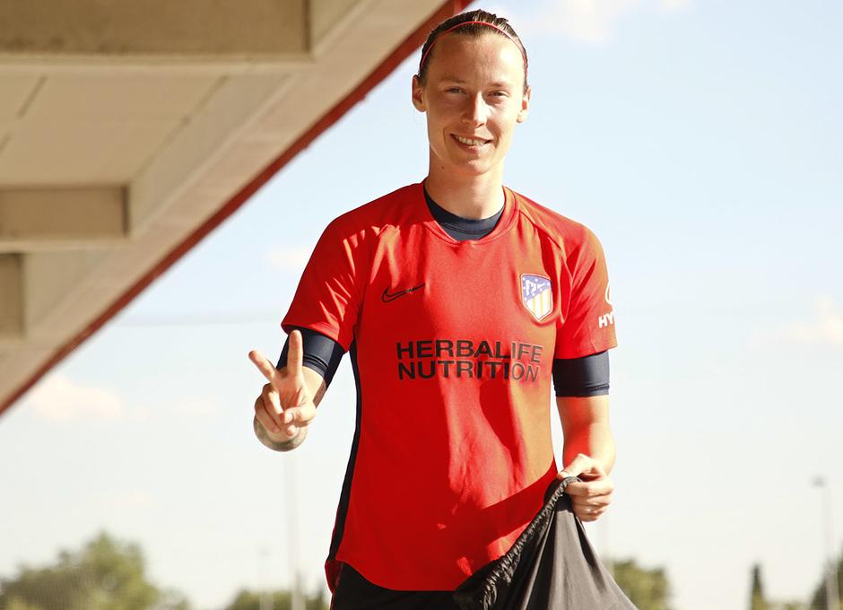 Temp. 20-21 | Entrenamiento Atlético de Madrid Femenino | Pauline Peyraud - Magnin