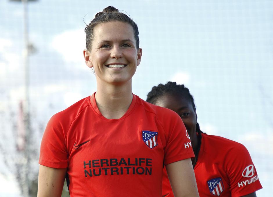 Temp. 20-21 | Entrenamiento Atlético de Madrid Femenino | Merel van Dongen