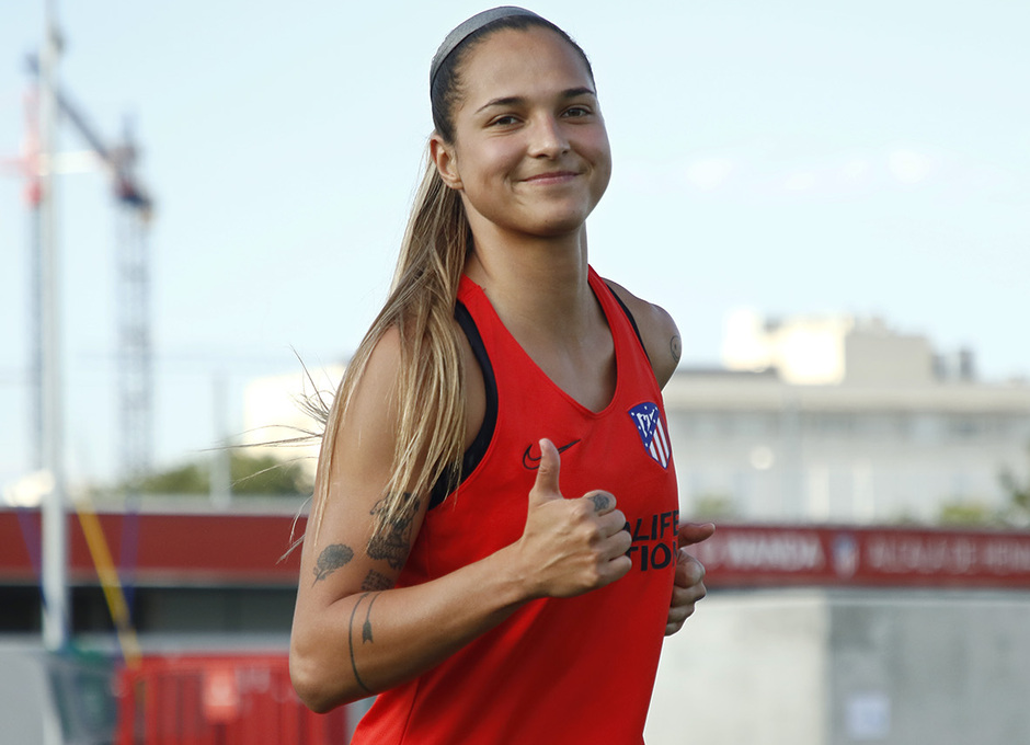 Temp. 20-21 | Entrenamiento Atlético de Madrid Femenino | Deyna Castellanos