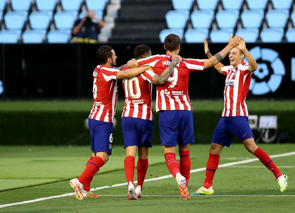 Temp. 19-20 | Celta - Atlético de Madrid | Celebración