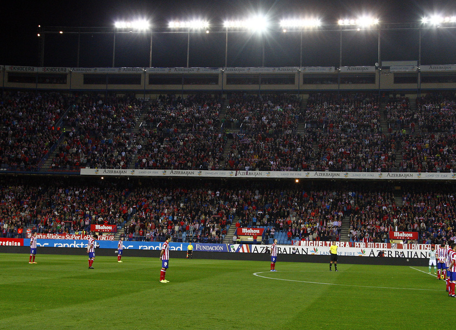 Temporada 2013/2014 Atletico de Madrid - Betis