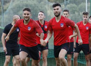 Temporada 19/20 | Entrenamiento en Marbella, fase de ascenso a Segunda División, Atlético B | Tropi y Calavera