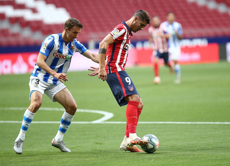 Temp. 19/20. Atlético de Madrid-Real Sociedad. Morata
