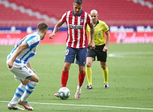 Temp. 19/20. Atlético de Madrid-Real Sociedad. Vitolo