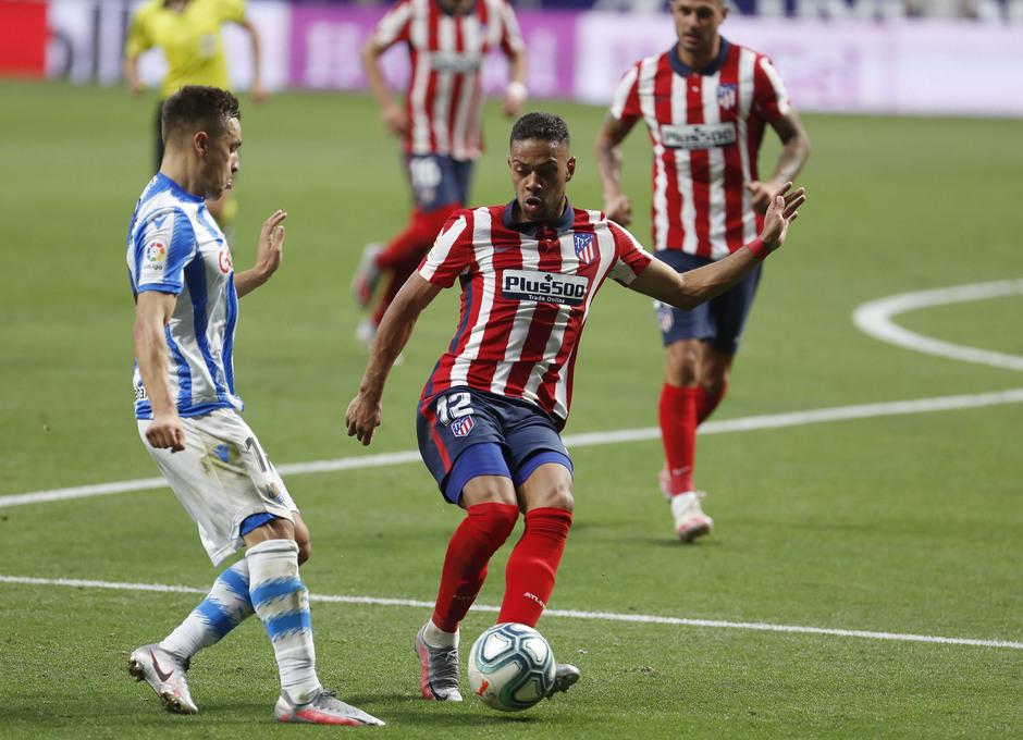 Temp. 19/20. Atlético de Madrid-Real Sociedad. Lodi