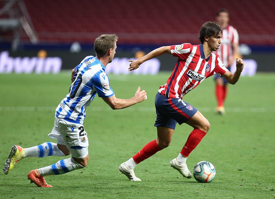 Temp. 19/20. Atlético de Madrid-Real Sociedad. João Félix.
