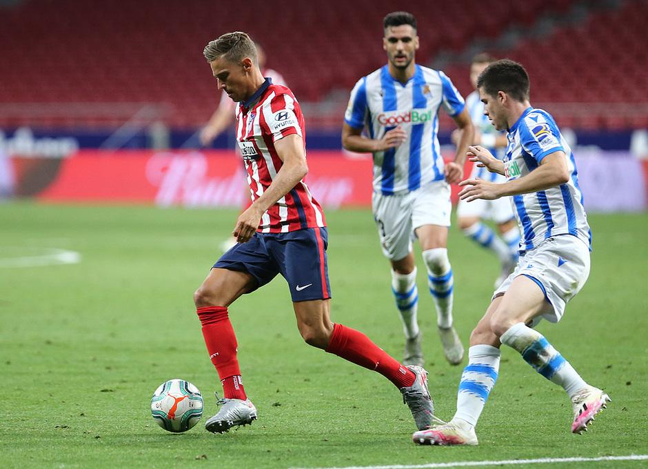 Temp. 19/20. Atlético de Madrid-Real Sociedad. Llorente