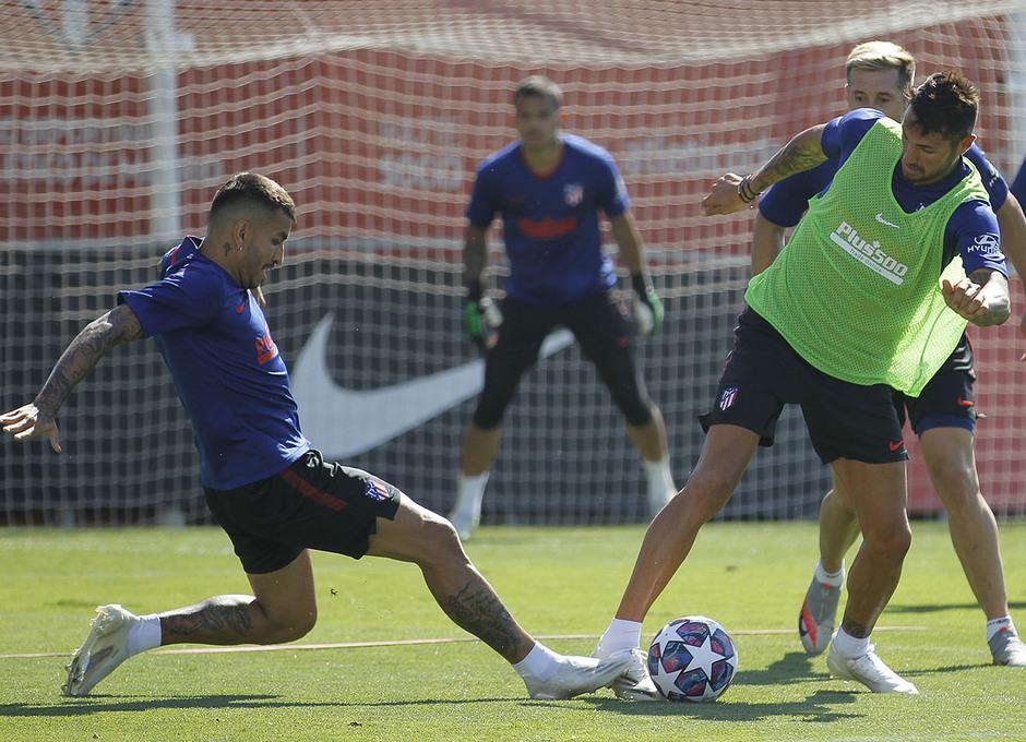 Temp. 19/20 | Entrenamiento 31-07-20 | Correa y Diego Costa