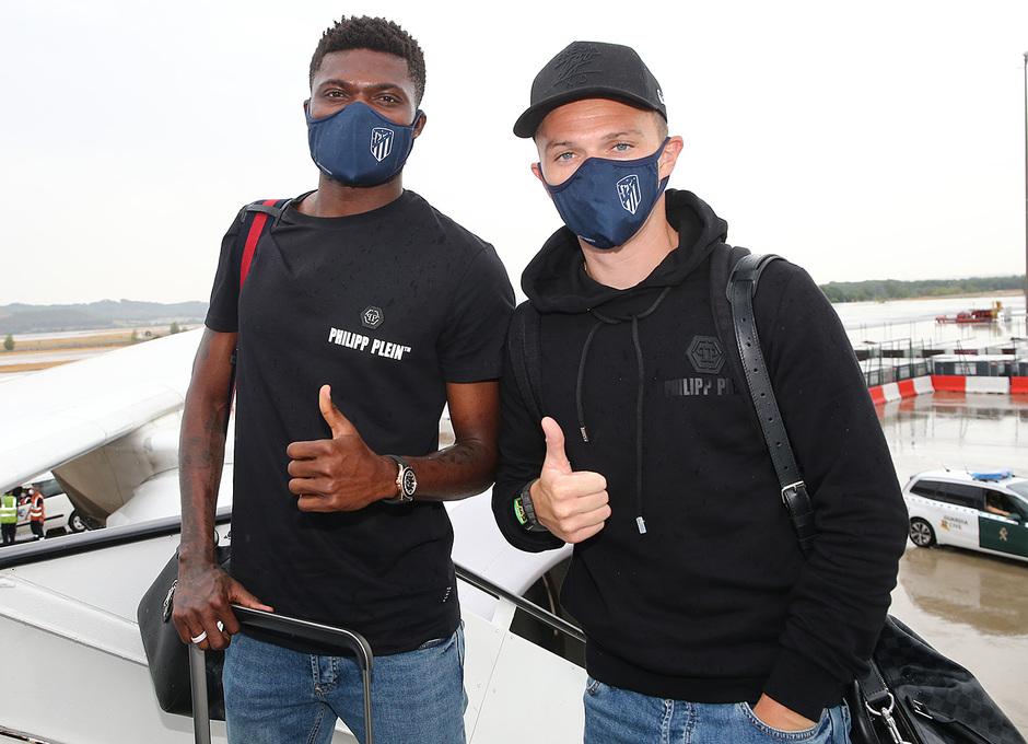 Temporada 19/20 | Champions League | Viaje a Lisboa | Thomas y Trippier