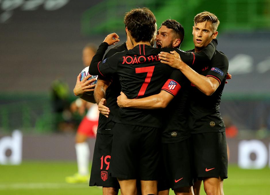 Temporada 19/20 | Champions League | RB Leipzig - Atleti | Joao celebración