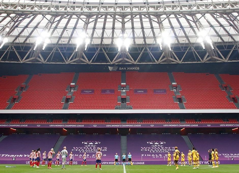 Temp. 19-20 | UWCL | Atleti-Barsa | Minuto de silencio