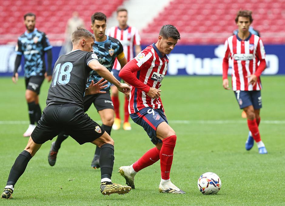 Temp. 20-21 | Entrenamiento con rival Almería | 19-09-20 | Morata