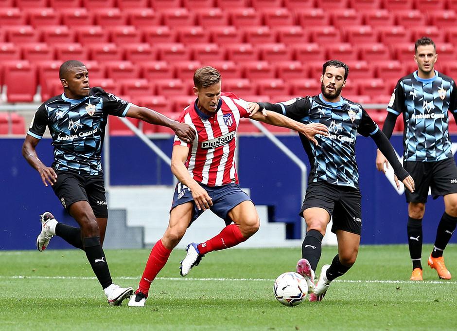 Temp. 20-21 | Entrenamiento con rival Almería | 19-09-20 | Llorente