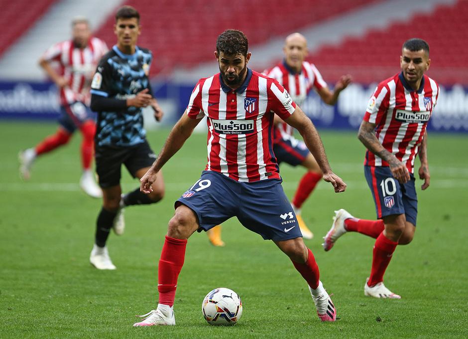 Temp. 20-21 | Entrenamiento con rival Almería | 19-09-20 | Diego Costa