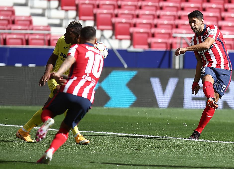 Temporada 20/21 | Atlético de Madrid - Villarreal | Luis Suárez