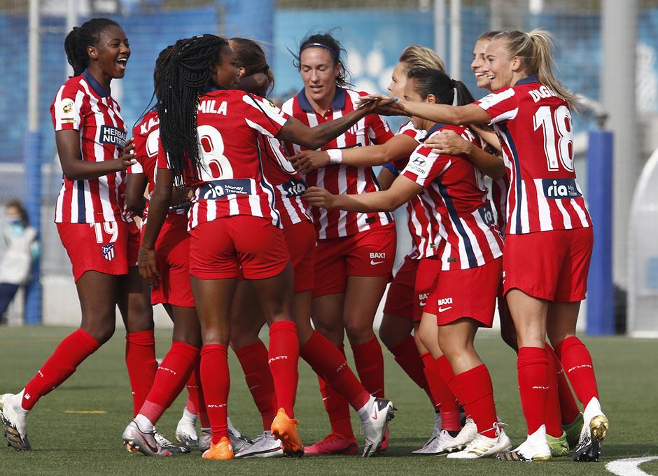 Temporada 20/21 | Espanyol-Atlético de Madrid Femenino | Celebración