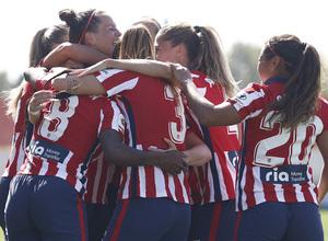 Temporada 2020/21   Atlético de Madrid Femenino - Granadilla   Gol
