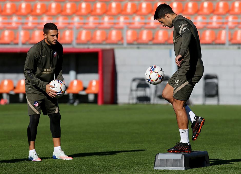 Temporada 2020/21 | Entrenamiento 16-10-20 | Suárez