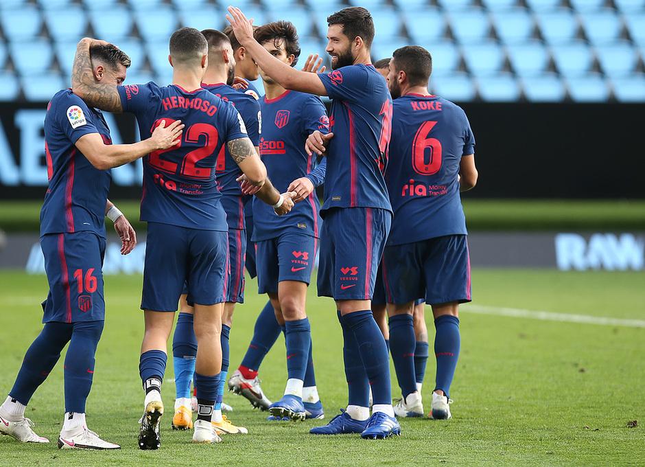 Temporada 2020/21 | Celta - Atlético de Madrid | Carrasco celebración