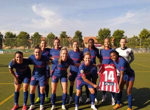 Temp. 20-21 | Santa Teresa - Atlético de Madrid Femenino | Once