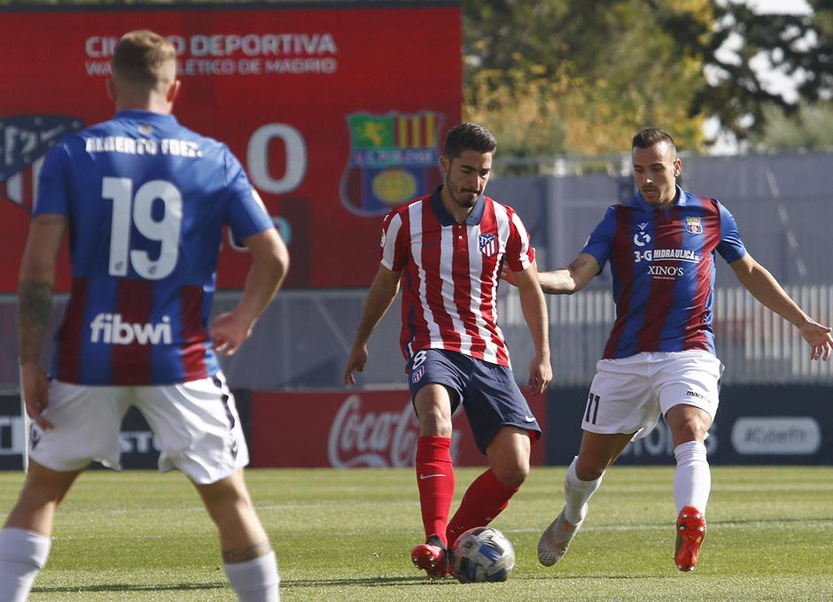 Temp 2020/21 | Atlético de Madrid B - Poblense | Toni Moya