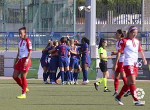 Temp. 20-21 | Santa Teresa - Atlético de Madrid Femenino | Celebración Ludmila