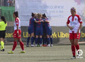 Temp. 20-21 | Santa Teresa - Atlético de Madrid Femenino | Celebración gol Deyna