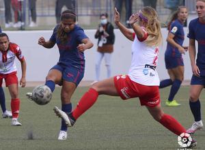 Temp. 20-21 | Santa Teresa - Atlético de Madrid Femenino | Leicy Santos