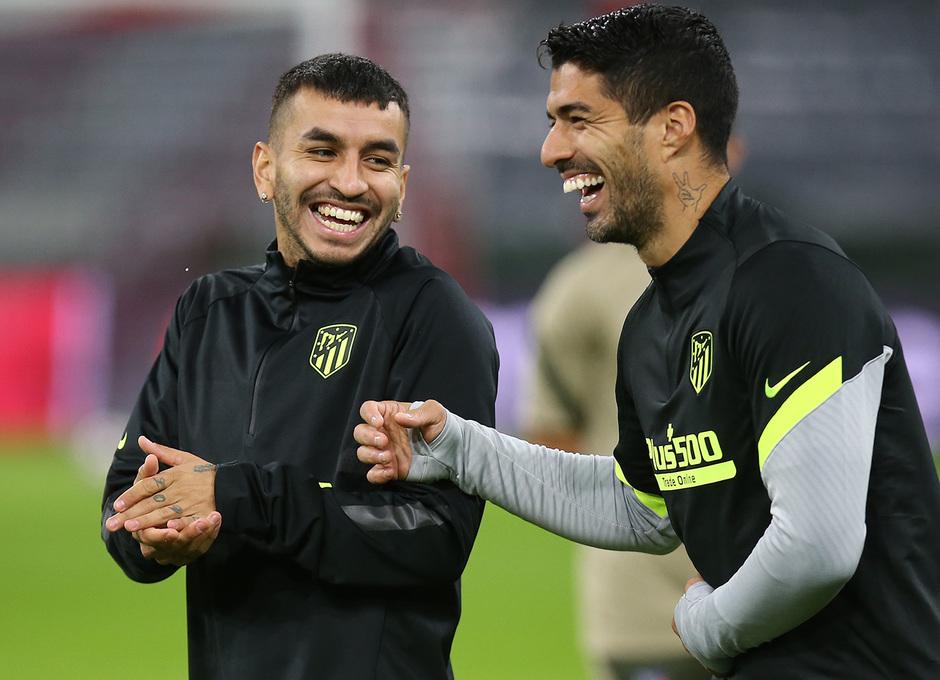 Temp: 20-21 | Entrenamiento en Múnich | Liga de Campeones | Suárez y Correa
